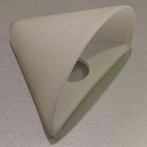 Capri skærm i hvid